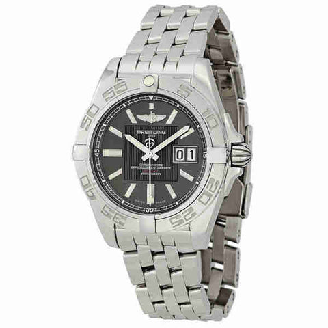 Breitling Galactic 41 Grey Dial Mens Watch A49350L2-F549SS