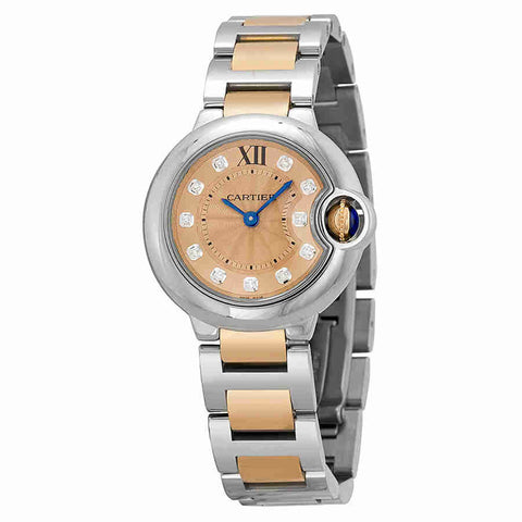 Cartier Ballon Bleu de Cartier Silver Dial Ladies Watch WE902052