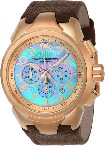Technomarine See Dream Chronograph Blue Dial Mens Watch 715025