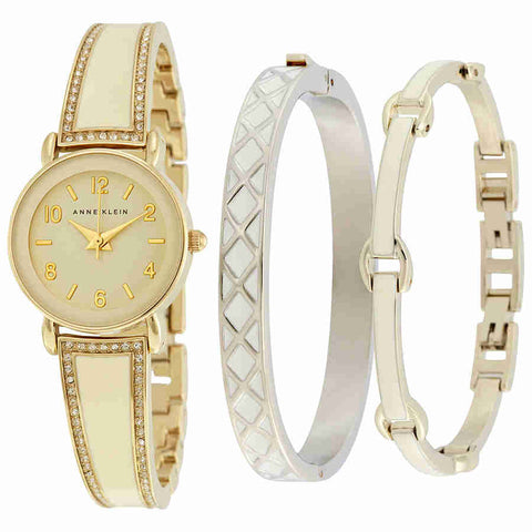 Ane Klein Glossy Ivory Dial Quartz Ladies Watch 2052IVST