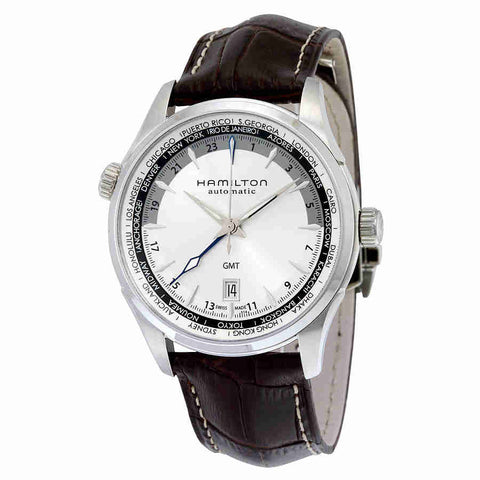 Hamilton Jazzmaster GMT Automatic Mens Watch H32605551
