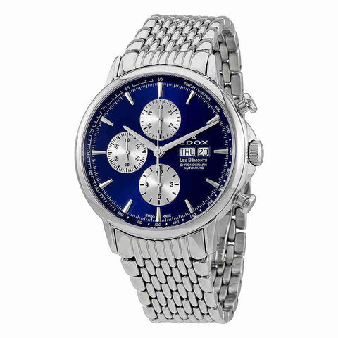 Edox Les Bemonts Chronograph Automatic Mens Watch 01120 3M BUIN