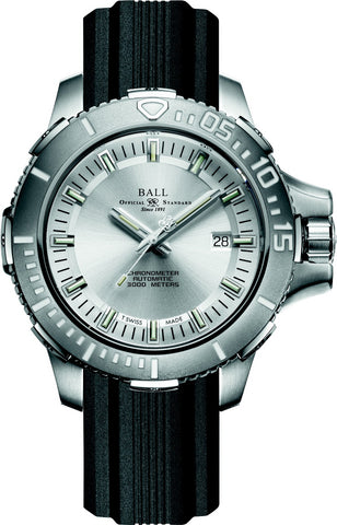 Ball DeepQUEST Automatic Silver Dial Mens Watch DM3000A-PCJ-SL