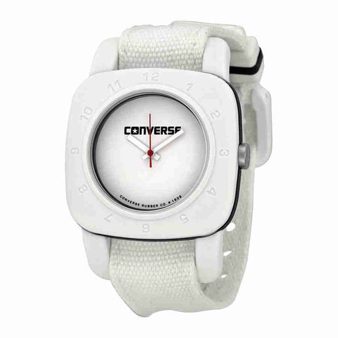 Converse 1908 Matte White Dial White Canvas Unisex Watch VR-021-100