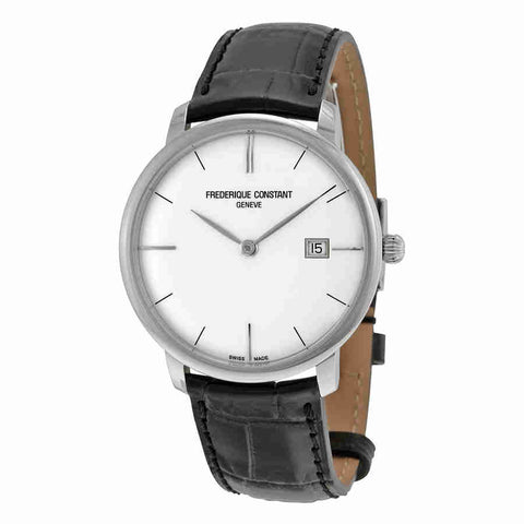 Frederique Constant Slimline Automatic Silver Dial Mens Watch 306S4S6
