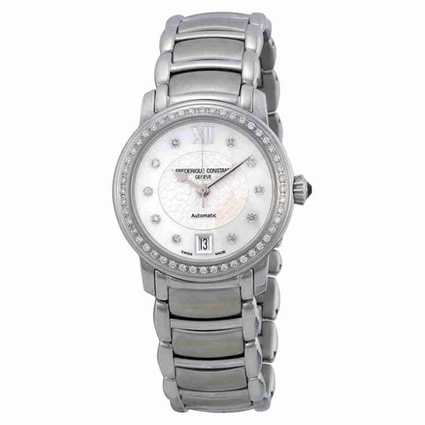 Frederique Constant Mother of Pearl Dial Stainless Steel Ladies Watch FC-303WHD2PD6B