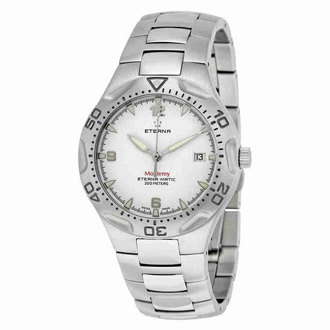 Eterna Monterey Automatic Silver Dial Mens Watch 1610.41.10.0165