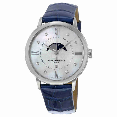Baume and Mercier Classima Mother of Pearl Dial Ladies Watch 10226