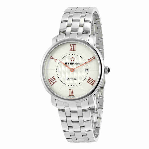 Eterna Artena White Dial Ladies Watch 2510.41.15.0273