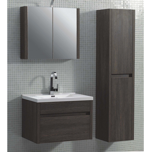 Asta bella wall hung single mirror cabinet 800mm for Bathroom cabinets 800mm wide