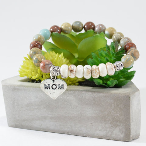 Mother's Day bracelet gemstone