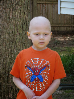 Sammy during chemo and radiation