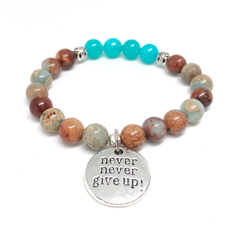 Inner Strength Collection- Never, never give up!