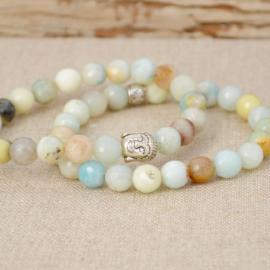 Zen Collection - Siddhartha Charm Amazonite Bracelets
