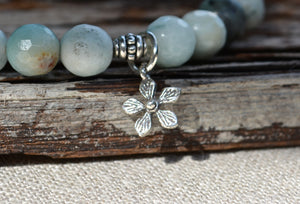 Calming Collection - Sterling Silver Daisy