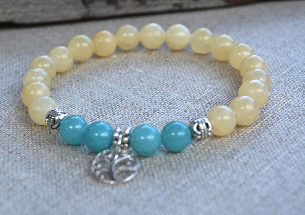 Zen Collection - Sterling Silver Tree of Life Charm Bracelet