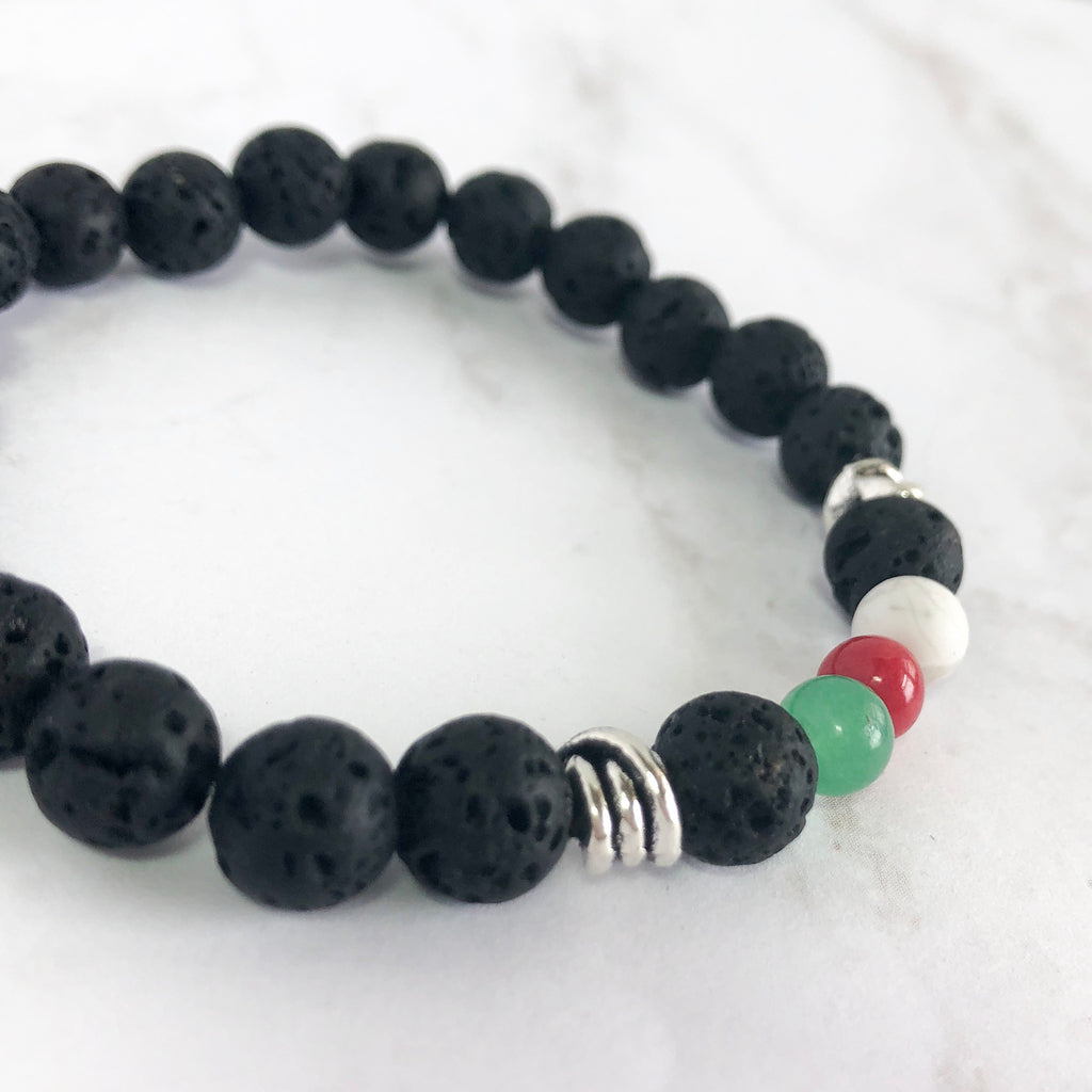 Cariad Unisex Bracelet - Welsh Colors