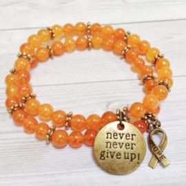 leukemia awareness bracelets