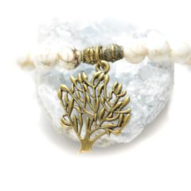 Zen Collection - Tree of Life White Gemstone Bracelets