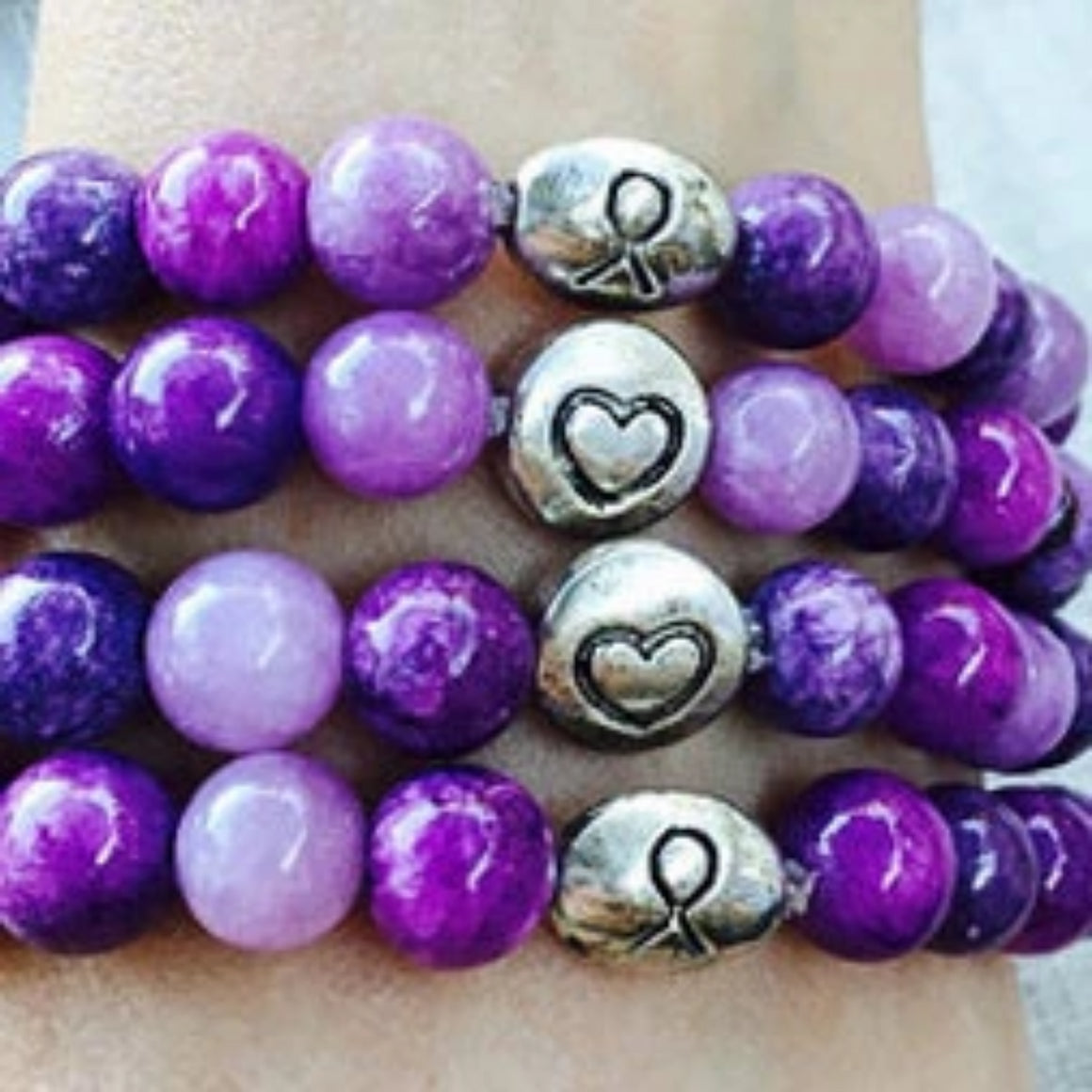 Awareness Collection - Fibromyalgia  or Lupus Bracelet