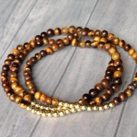 The Stack Collection - Tigers Eye Stackable Bracelets