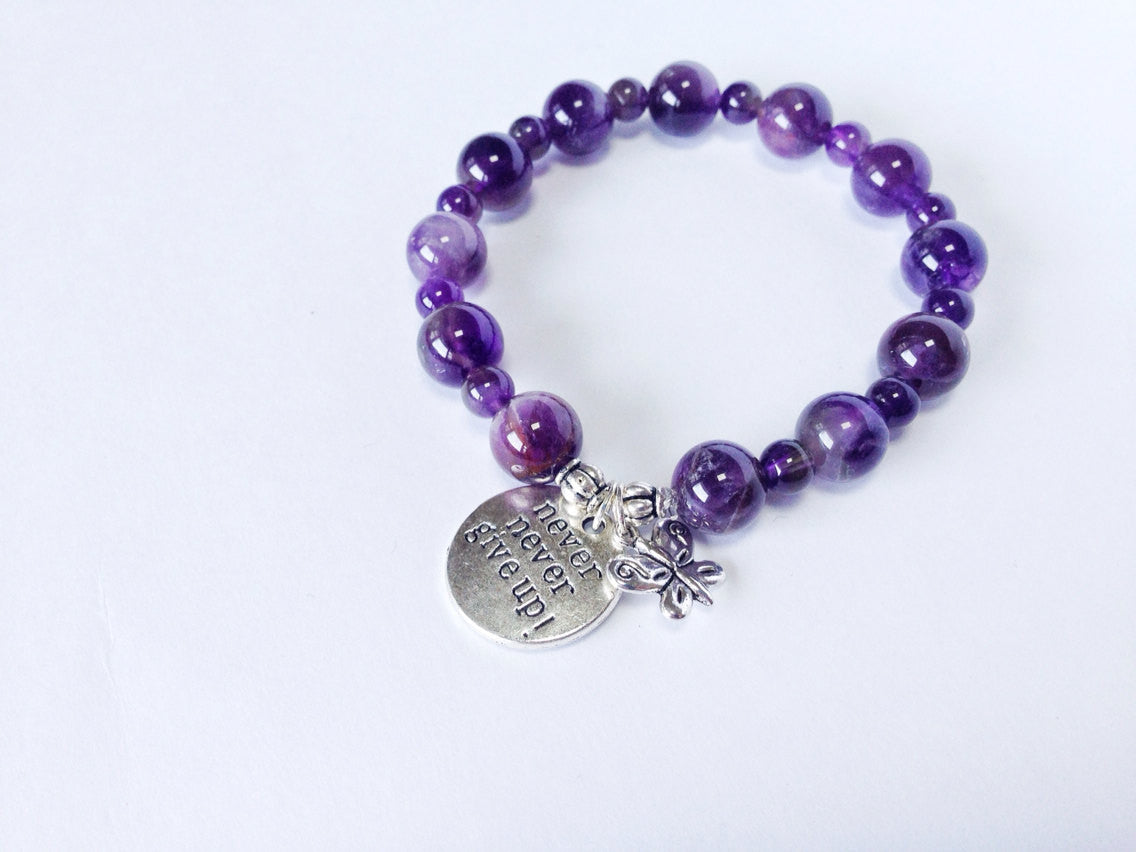 Awareness Collection - Lupus and Fibromyalgia Support Bracelet