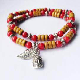 Childhood cancer red bracelet