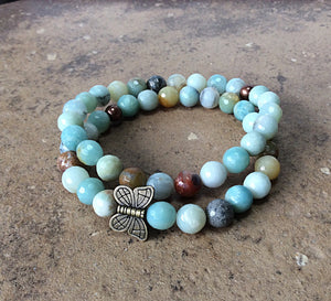 stretch gemstone bracelets