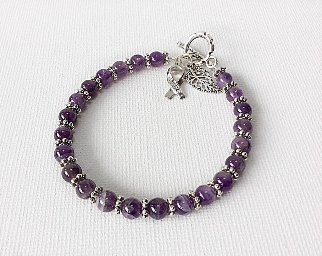 Lupus awareness bracelet