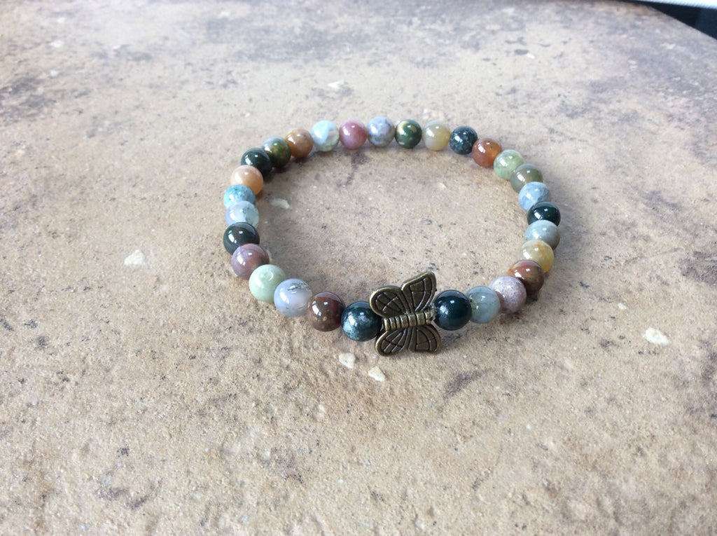 stacking butterfly bracelet by Butterfly Warriors Jewelry