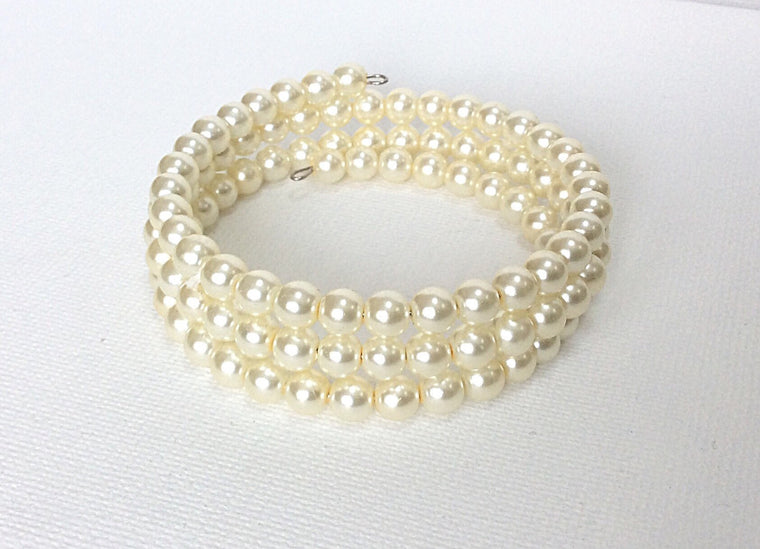 Pearl Collection Ivory Cuff
