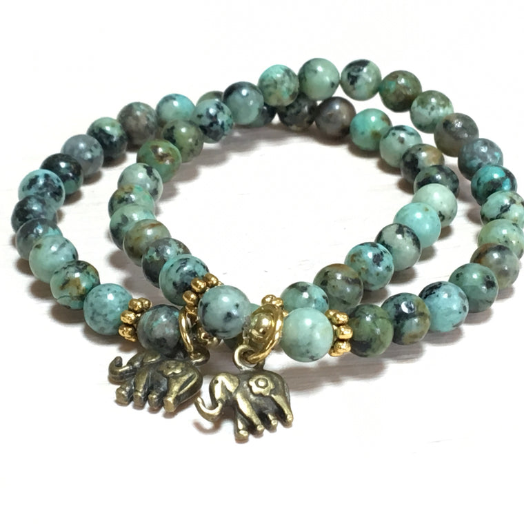 Tranquility Collection - Elephant Charm Bracelet