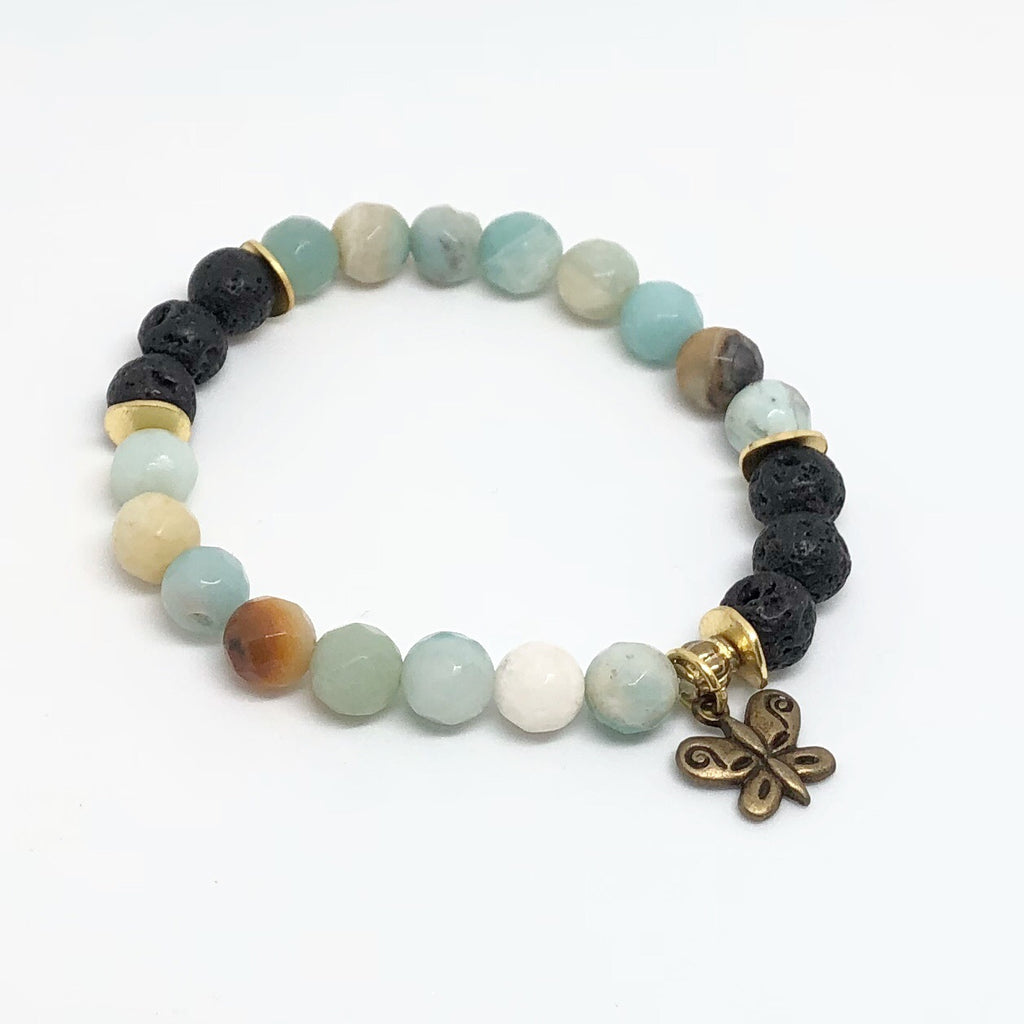 Diffuser Collection Amazonite Bracelet