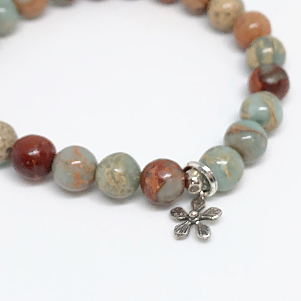 Inner Strength Collection with Silver Daisy