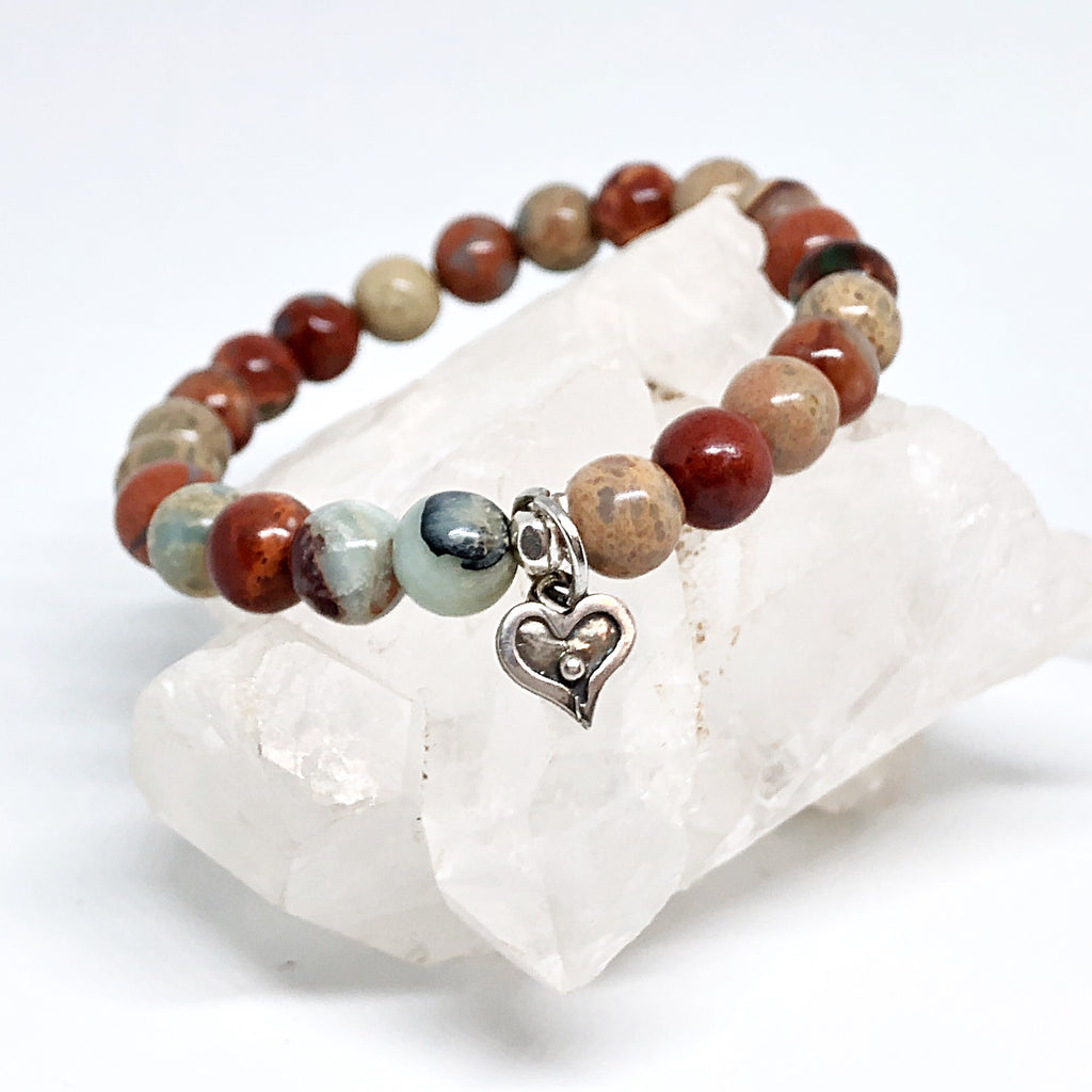 Inner Strength Collection with Silver Heart