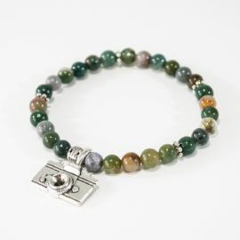 Shamen Collection- Camera Charm Bracelet