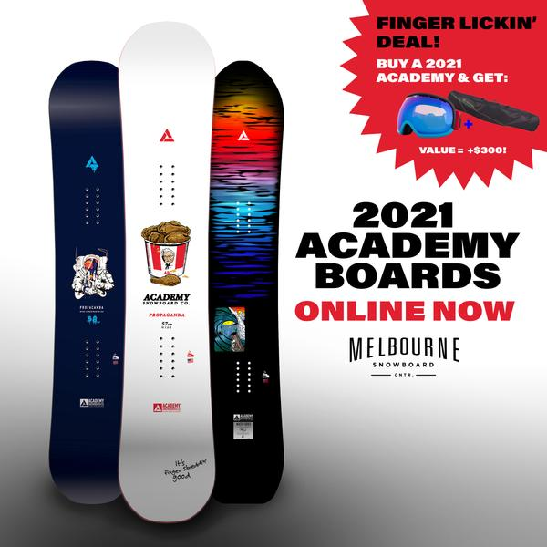 Academy 2021 Boards - IN STORE NOW!