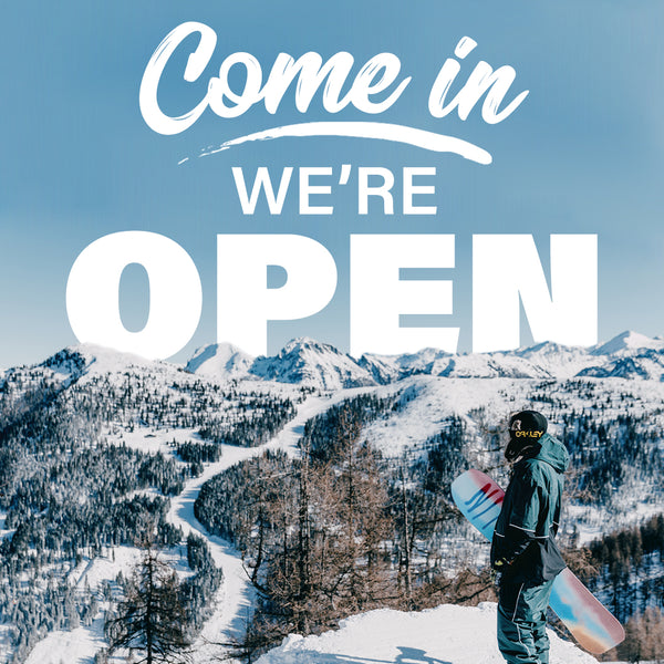 We're Open To All of Victoria!