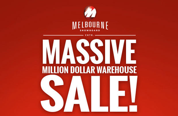 Million Dollar Warehouse Sale Starts Thursday!