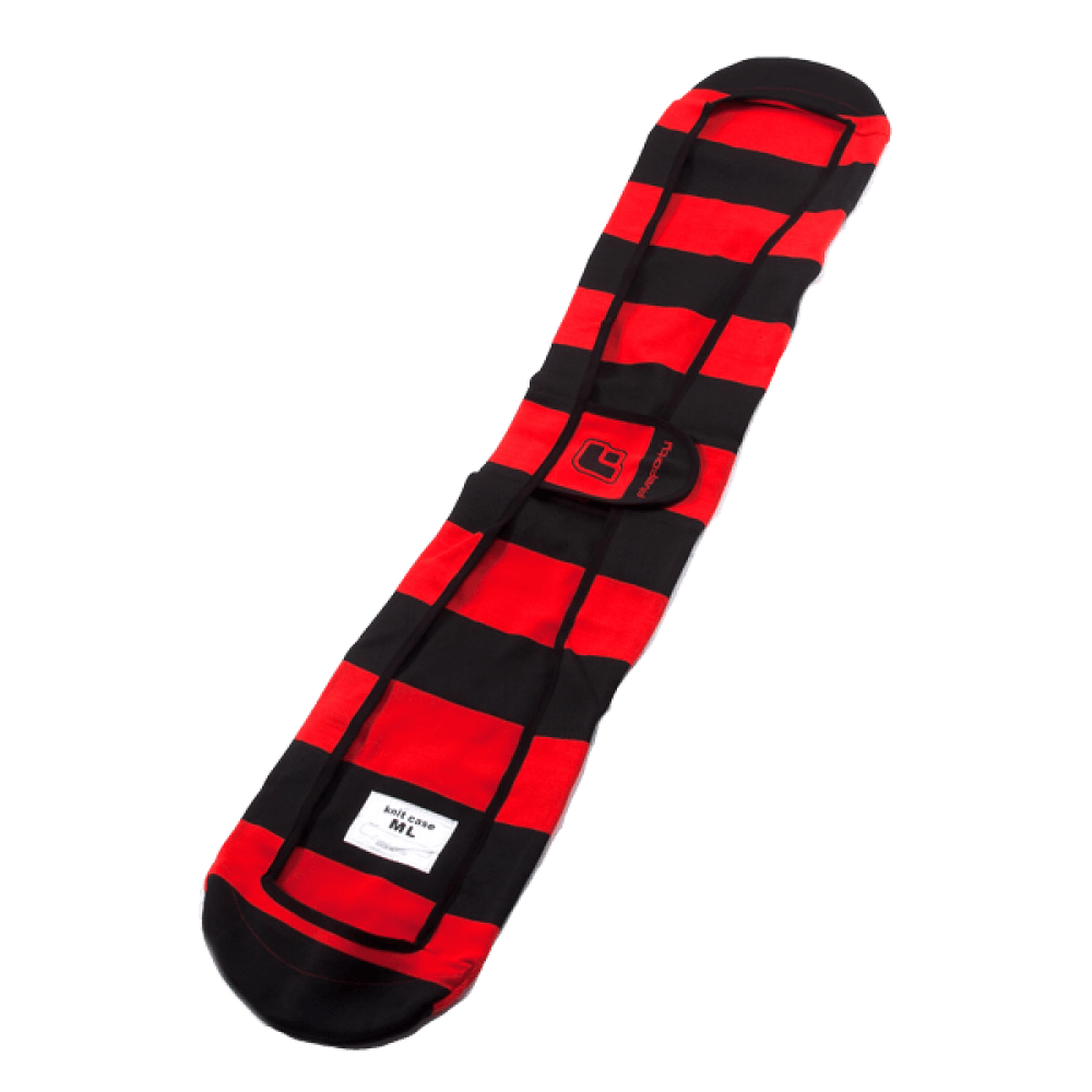 540 Knitted Sleeve Black Red Snowboard Bag Australia