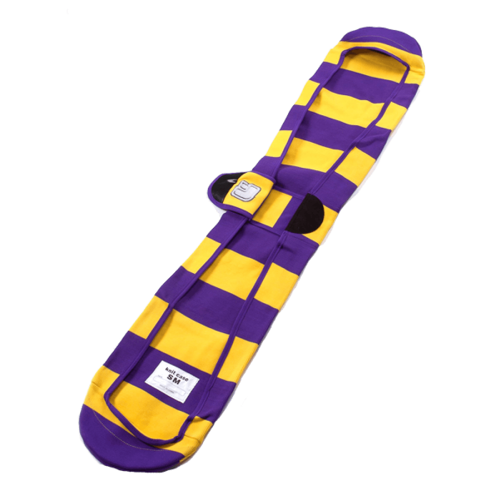 540 Knitted Sleeve Purple Yellow Snowboard Bag Australia