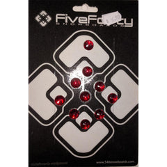 540 Red Circle Jewels Stomp Pad