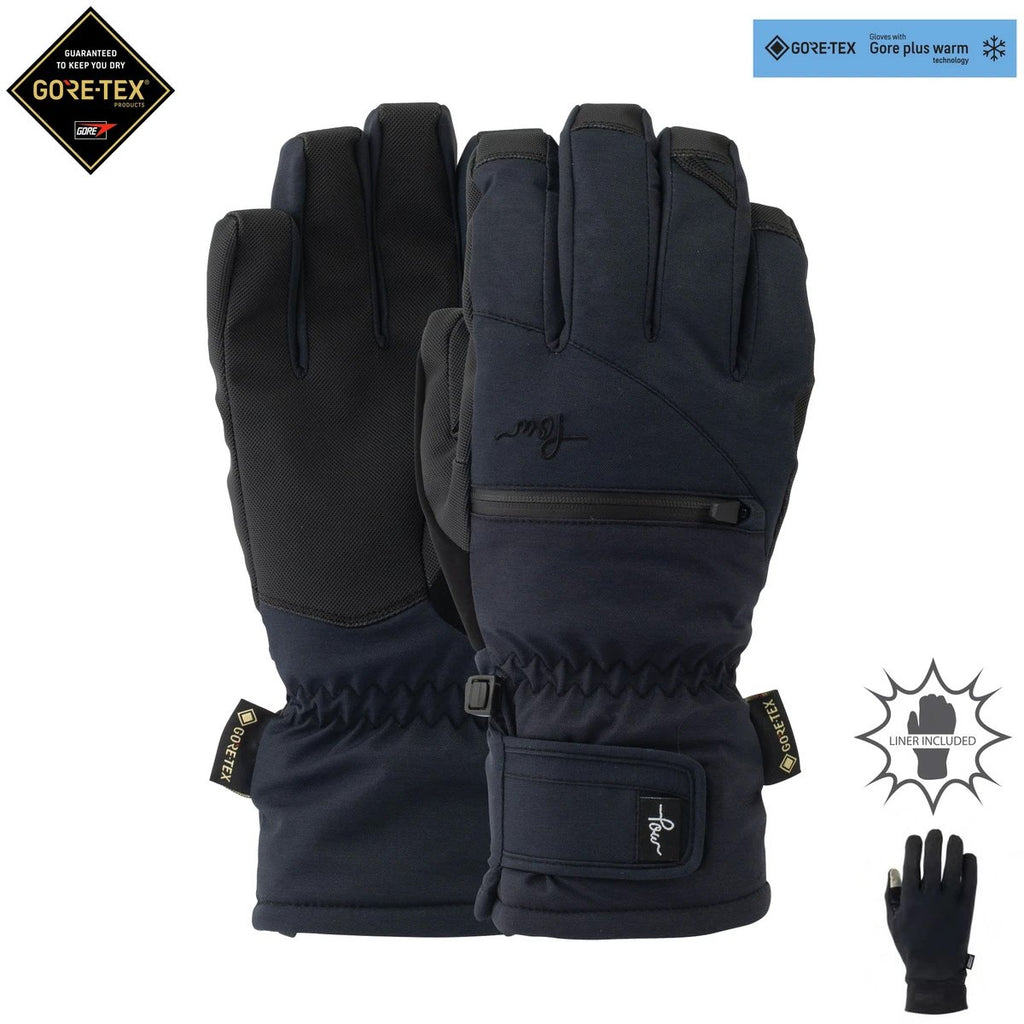 Pow Womens Cascadia Gore-Tex Short Glove 2020