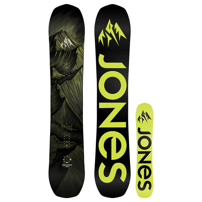 jones explorer wide snowboard 2018