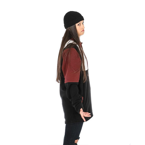 Black / Off White / Maroon