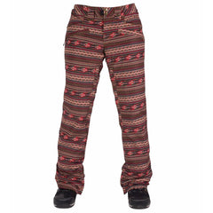 Powder Room Fireside Pant Tobacco Navajo 2016 Snowboard Outerwear