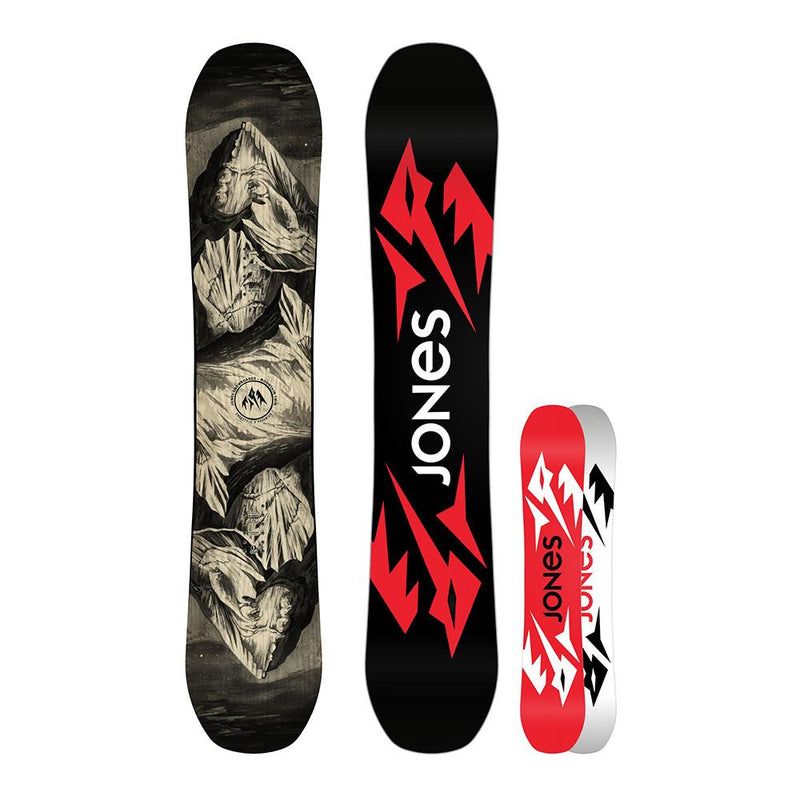 jones ultra mountain twin snowboard 2018
