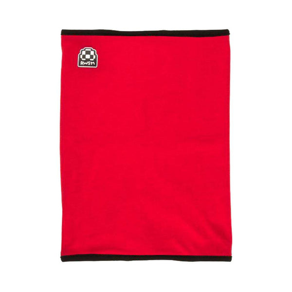 AWSM Neck Warmer Red Snowboard Accessories Australia