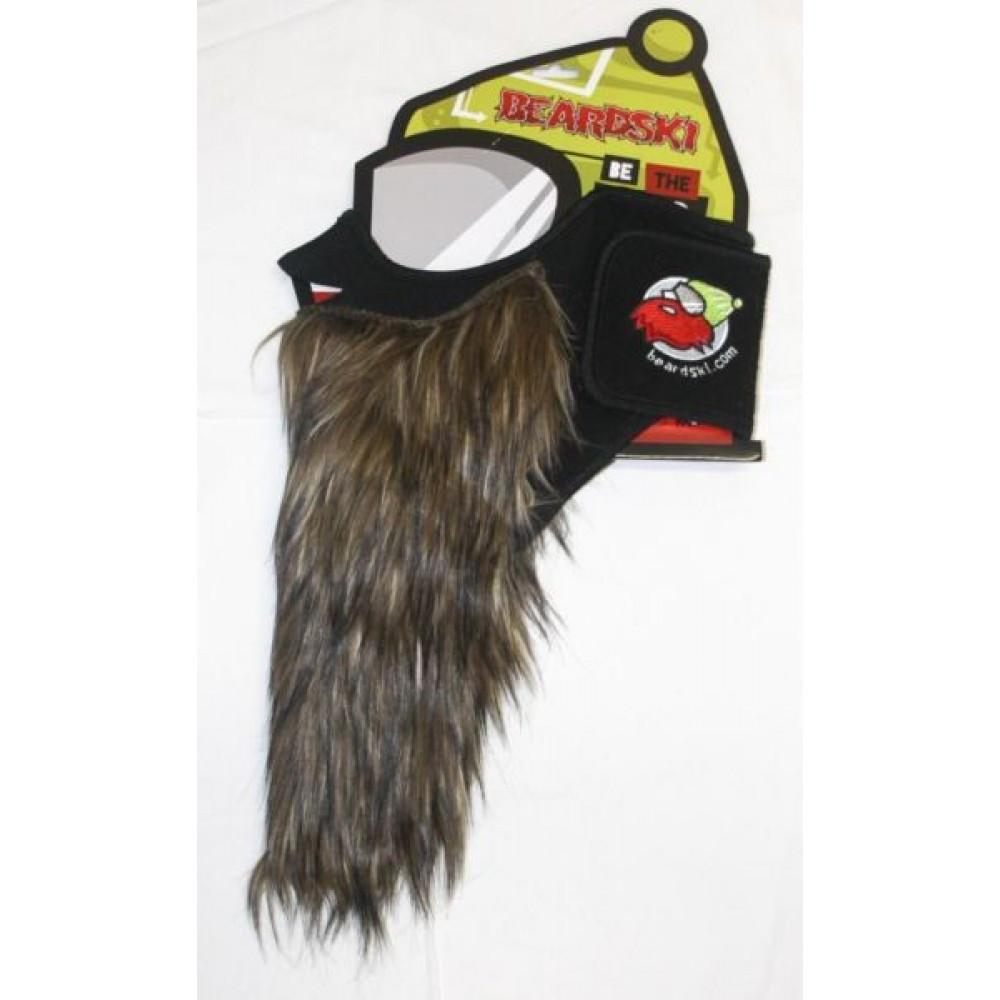 Beardski Mask Prospector Brown Mens Snowboard Accessories Australia