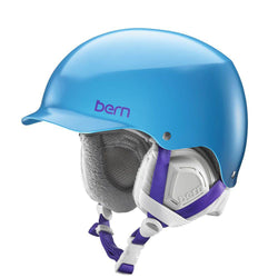Bern Muse Helmet Satin Ocean Blue 2016 Womens Protection
